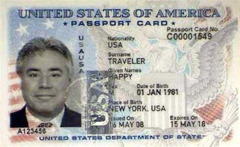 passport   passport card