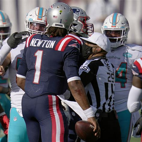 Patriots' Cam Newton: Dolphins Players Tried to Take My ...