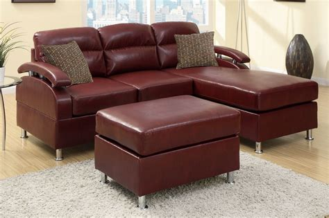 red leather sofa and loveseat kade red leather sectional sofa and ottoman steal a sofa