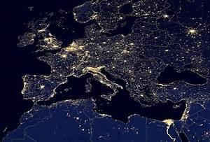 NASA Earth at Night - Pics about space