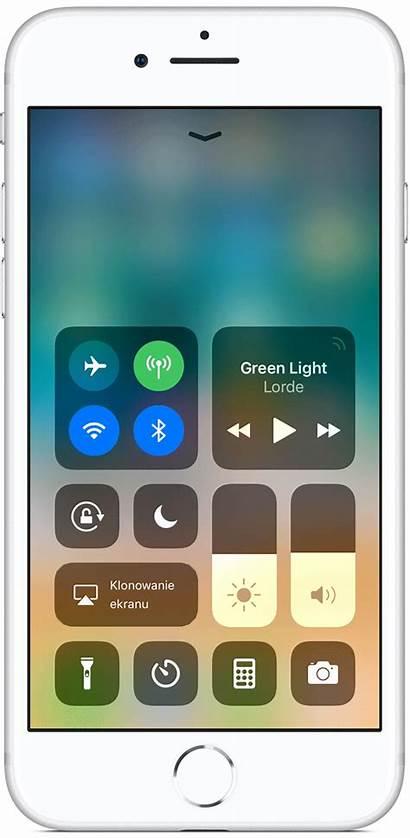 Iphone Ios Apple Kontrollzentrum Ipad Touch Control