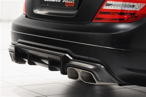 Brabus Bullit Coupe 800 Adds A V12 To The Mercedes C63 Amg