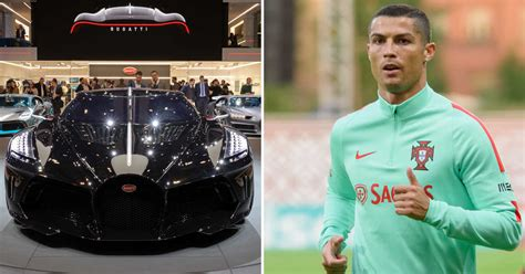 The most expensive car ever sold is this bugatti model, nicknamed la voiture noir. Cristiano Ronaldo Just Bought 'World's Most Expensive Car' - A $16.5 Million Bugatti (Pics ...