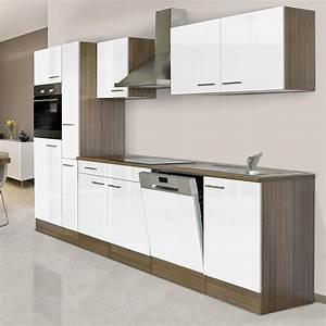 Küchenzeile 310 Cm : respekta k chenzeile kb310eyw breite 310 cm wei seidenglanz bauhaus ~ Indierocktalk.com Haus und Dekorationen