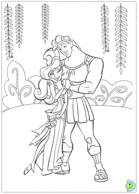 hercules coloring pages getcoloringpagescom