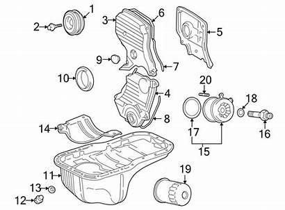 Rav4 Parts Engine Toyota Oil Cooler Stud