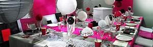 Decoration anniversaire adulte chic for Salle de bain design avec décoration de table pour anniversaire 20 ans