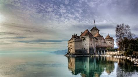 Chillon Castle Bing Wallpaper Download