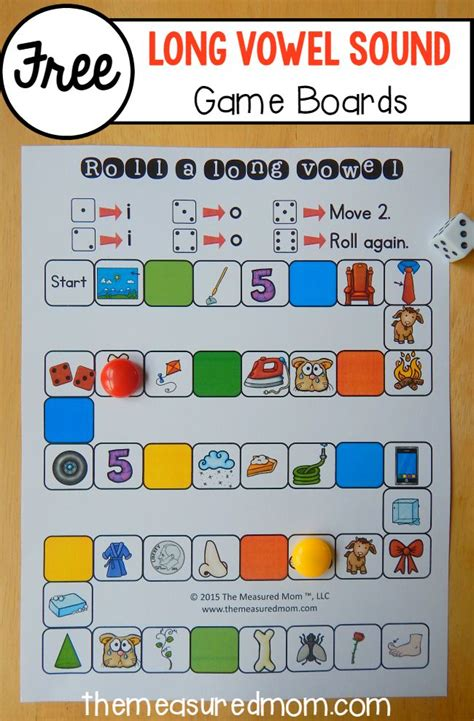 26 Free Games To Teach Long Vowel Sounds  The Measured Mom