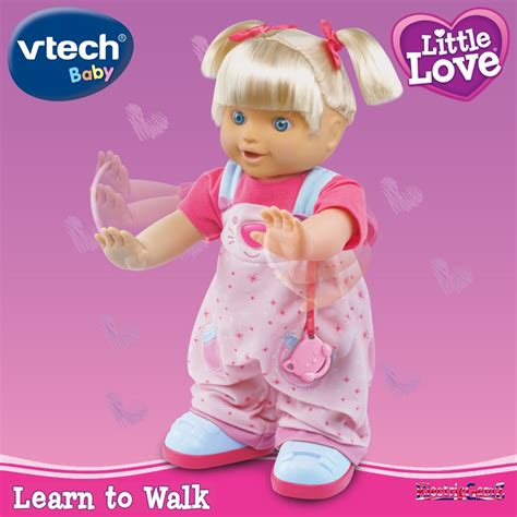 Vtech Little Love Learn To Walk Interactive Doll