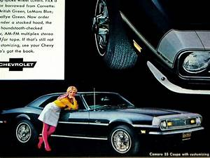 1968 Chevy Camaro Ss Print Ad  Poster  Picture  Sign Z28