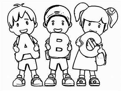 Abc Coloring Pages Printable Everfreecoloring