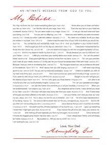 Father Love Letter From God