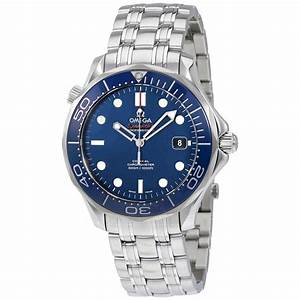 Omega Seamaster Automatic Blue Dial Men's Watch 212.30.41 ...