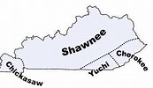 Image result for kentucky indian tribes map