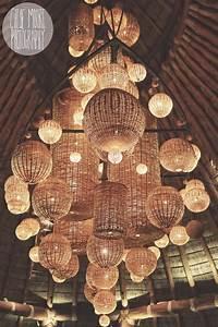 Awesome wicker basket lighting Mukul Resort, Nicaragua ...