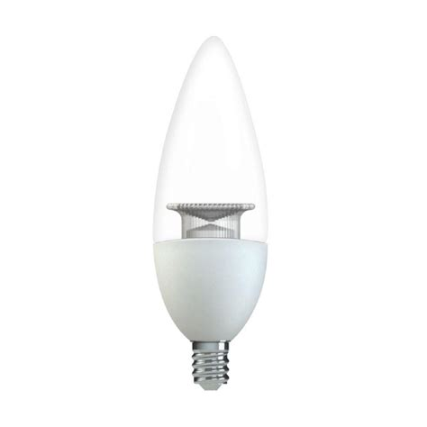 home depot chandeliers ge 60w equivalent white b11 blunt tip clear