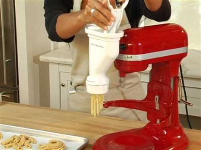 kitchenaid pasta press attachment youtube