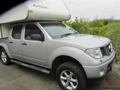 truck camper  nissan navara