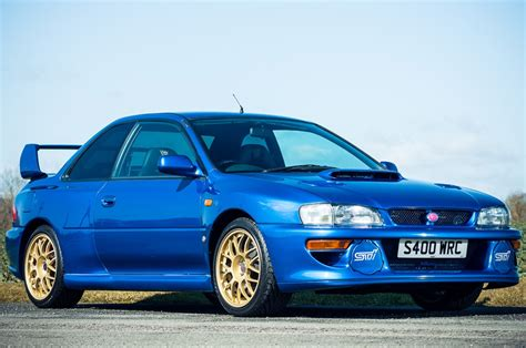 subaru sti 1998 subaru impreza sti 22b expected to sell for 100 000