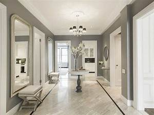 Couloir Gris Et Blanc : peinture couloir et d coration de l 39 entr e 57 id es en couleurs ~ Melissatoandfro.com Idées de Décoration
