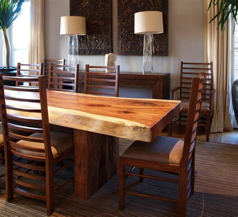 contemporary wood kitchen tables 10 wooden dining tables that make you want a makeover 5755