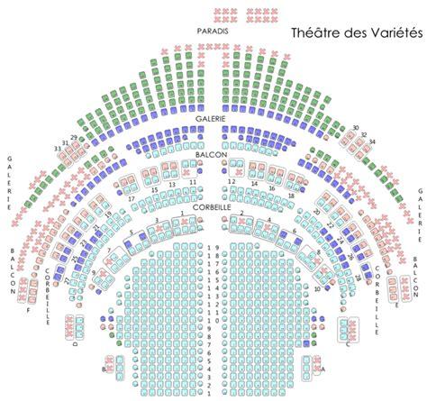 plan de salle theatre de les infos pratiques avec contact plan de salle acc 232 s et photos th 233 226 tre des vari 233 t 233 s