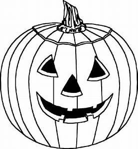Hideous Pumpkins Coloring Page
