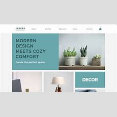 Home & Decor Website Templates  Online Store  Wix
