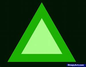 How To Draw A Triangle  Step By Step  Symbols  Pop Culture