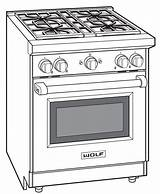 Oven Drawings Coloring Convection Sketch Template sketch template