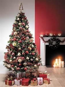 Pinterest Sapin De Noel : sapin de no l rouge et or centrakor christmas trees pinterest christmas tree christmas ~ Preciouscoupons.com Idées de Décoration