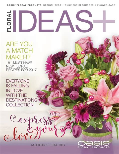 flower design magazine floral ideas magazine floral design business resources and flower care ideas oasis floral
