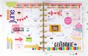 the happy planner birthday anniversary planner me my big ideas