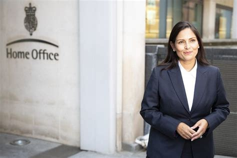 Priti Patel takes charge as first British Indian Home ...