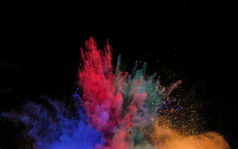 Download 3840x2400 Wallpaper Color, Explosion, Powder's