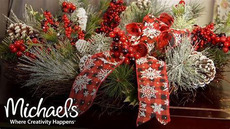 holiday decorations bows ribbon garland ideas