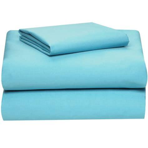 extra long twin sheet set aqua