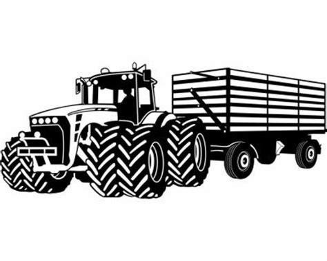 Wandtattoo Traktor Mit Anhänger Reuniecollegenoetsele