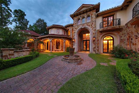 mediterranean house 4 houston mansions for fortune 500 executives