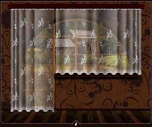 Hotové záclony balkon+okno