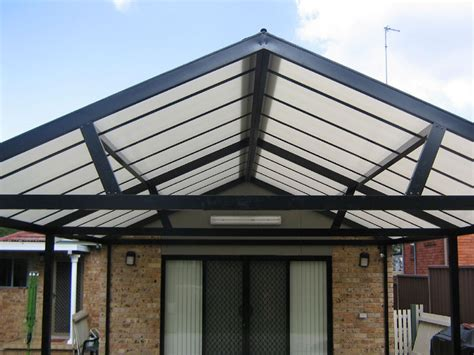 gable roof awnings commercial residential