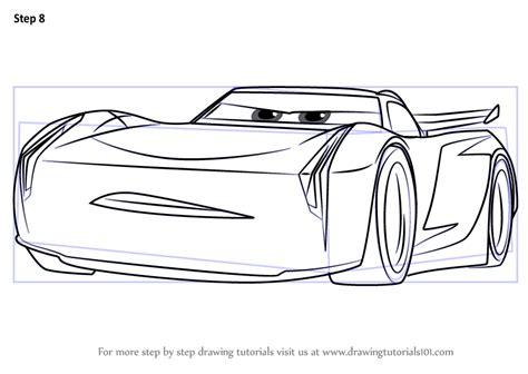 learn   draw jackson storm  cars  cars  step