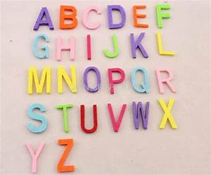 Set of 500pcs 30mm fabric wool felt letter alphabet mixed for Wool felt letters