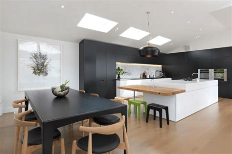 modern kitchen black 31 black kitchen ideas for the bold modern home freshome com