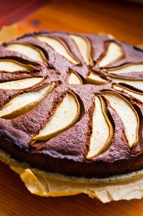 recette de gateau allege au chocolat   la poire marie