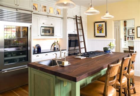 country kitchen islands with seating white landmark home traditional kitchen san