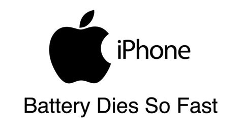 why does my iphone 5 battery die so fast iphone battery dying fast why does my iphone battery die