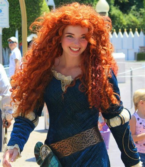 Beautiful red head Brave cosplay   Cosplay Redheads