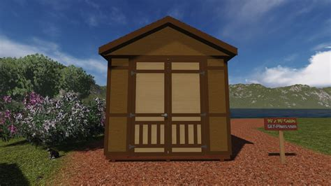 shed plans 10 x 16 10x16 gable shed plan